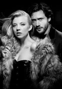 Natalie Dormer & David Oakes in Venus in Fur, Theatre Royal Haymarket, London