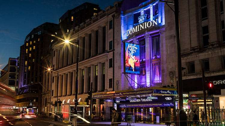 Dominion Theatre Completes GBP6million RefurbishmentLondon