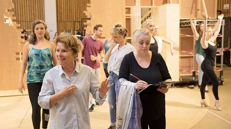 Imelda Staunton and Liz Ewing - FOLLIES - National Theatre, London