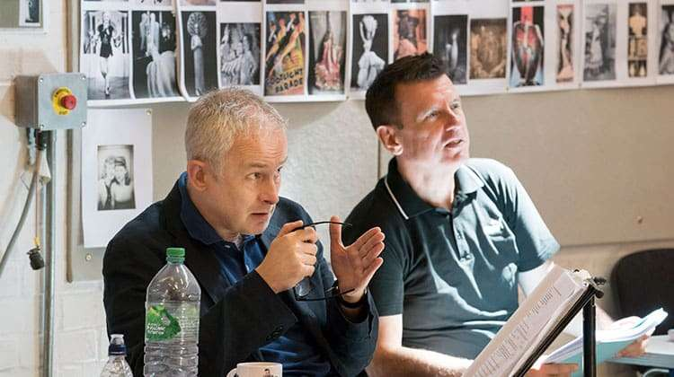 Dominic Cooke (Director) and Bill Deamer (Choreographer) FOLLIES - National Theatre, London