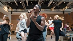 Tyrone Huntley in rehearsal Jesus Christ Superstar | Regents Park