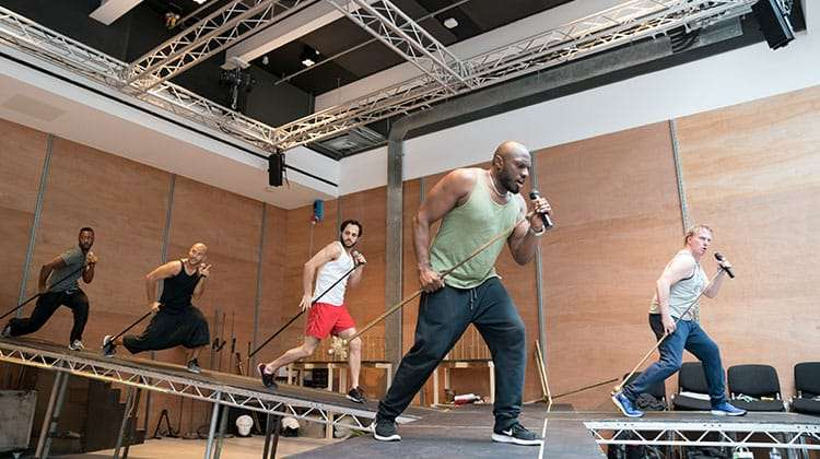 Cast rehearsal - Jesus Christ Superstar | Regents Park