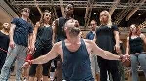 Decland Bennett and Tyrone Huntley with Ensemble. Jesus Christ Superstar - Regents Park