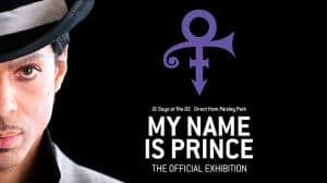 My Name Is Prince exhibition The O2, London
