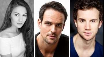 Kelly Mathieson, Ben Lewis & Jeremey Taylor   The Phantom of the Opera, London