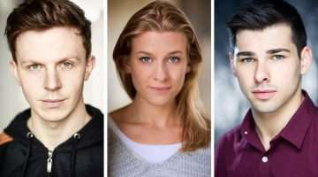 Jonathan Carlton, Tessa Kadler, Bradley Judge cast in Pippin The Musical
