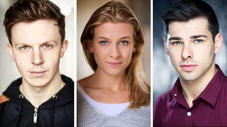 Jonathan Carlton, Tessa Kadler, Bradley Judge cast in Pippin The Musical