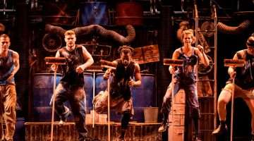 STOMP at London's Ambassadors Theatre