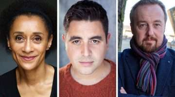 Suzanne Packer, Noel Sullivan & John Owen Jones in Tiger Bay The Musical