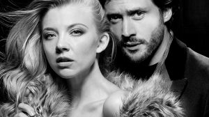 Natalie Dormer & David Oakes in Venus in Fur, Theatre Royal Haymarket, London