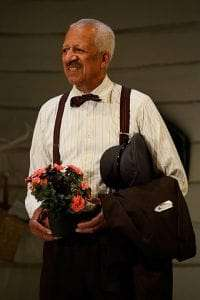 Derek Griffith in Driving Miss Daisy. Photo: Nobby Clark