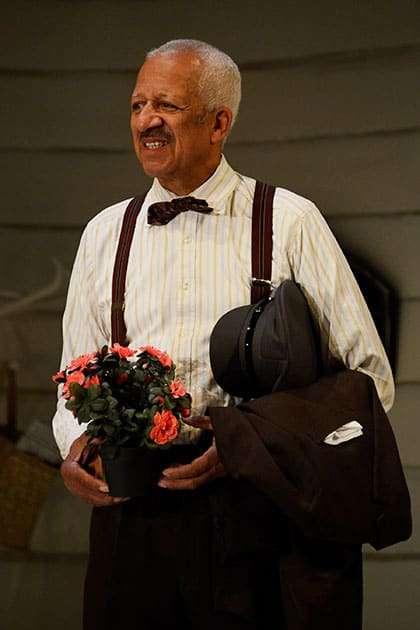Derek Griffith in Driving Miss Daisy. Photo: Nobby Clark
