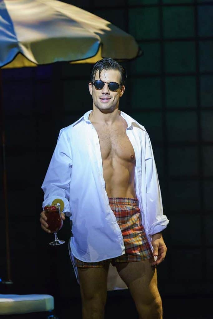 Danny Mac playing 'Joe Gillis' in Sunset Boulevard. Photo: Manuel Harlan