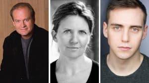 Kelsey Grammar, Clare Burt & Jamie Moscato