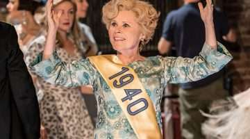 Imelda Staunton as Sally Durant Plummer in FOLLIES at the National Theatre (c) Johan Persson
