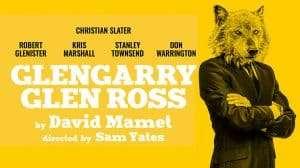 Glengarry Glen Ross at Playhouse Theatre starring Christian Slater