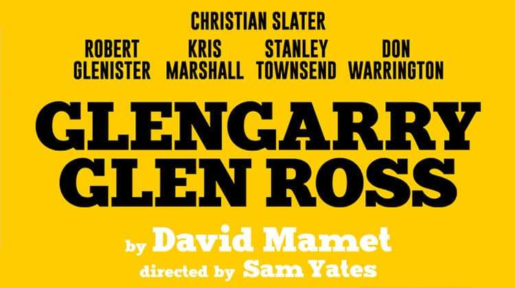 glengarry glen ross and death of By marc camoletti march 13th – april 4th this 1960's farce tells the story of self-styled parisian lothario bernard, who has italian, german, and american fiancees.