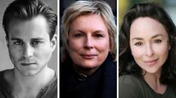 Kevin Bishop, Jennifer Saunders, Samantha Spiro