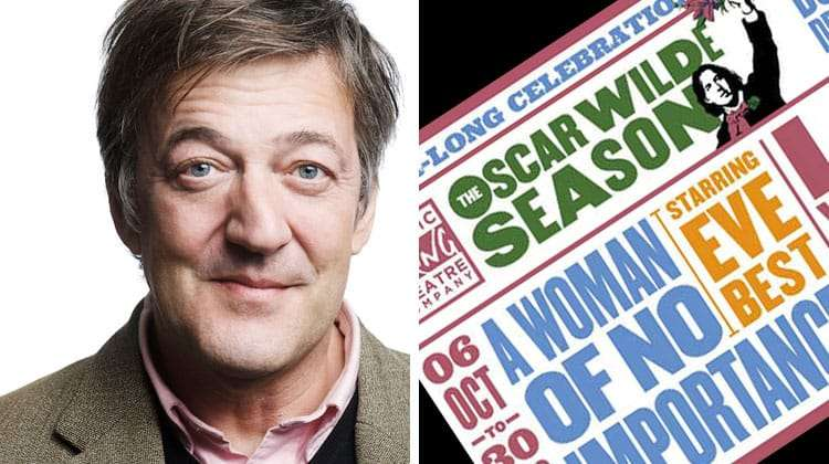 Stephen Fry in Wilde Talk Series from Classic Spring