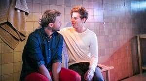 Dan Hunter & Roly Botha in STRANGERS. Credit Andreas Grieger