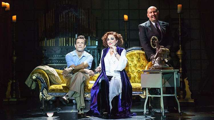 Ria Jones, Danny Mac & Adam Pearce in Sunset Boulevard. Photo Manuel Harlan
