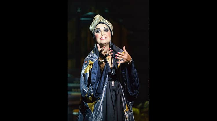 Ria Jones in Sunset Boulevard. Photo Manuel Harlan | Photos: Sunset Boulevard on tour