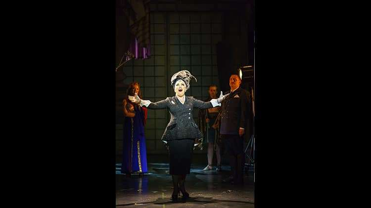 Ria Jones in Sunset Boulevard. Photo Manuel Harlan