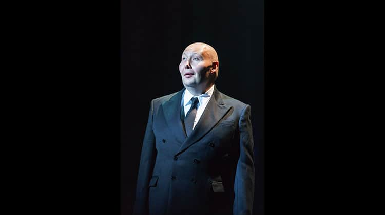 Adam Pearce in Sunset Boulevard. Photo Manuel Harlan