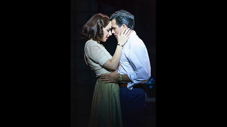 Danny Mac & Molly Lynch in Sunset Boulevard. Photo Manuel Harlan | Photos: Sunset Boulevard on tour