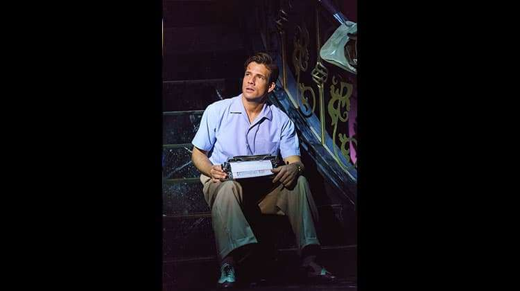 Danny Mac in Sunset Boulevard. Photo Manuel Harlan