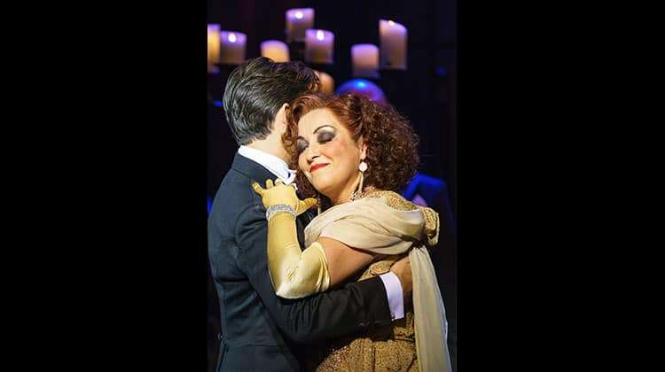 Ria Jones & Danny Mac in Sunset Boulevard.