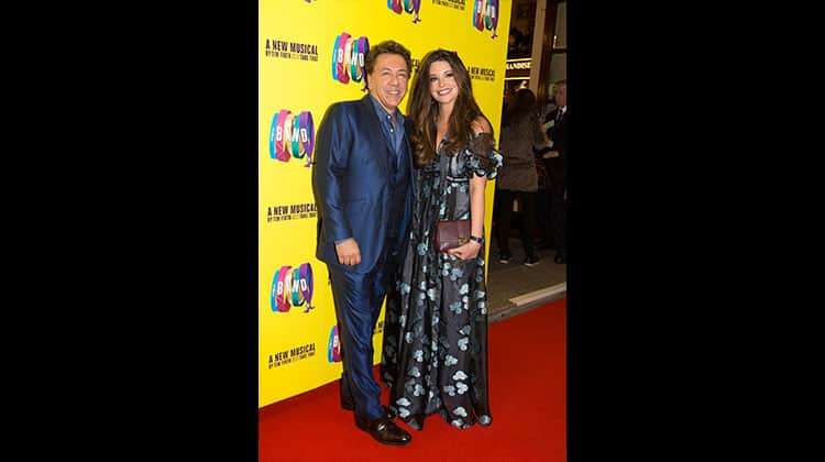 Ross King and wife Brianna Deutsch at the press night for The Band, credit Phil Treagus | Photo flash: opening night at The Band