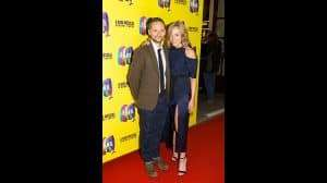 Director Jack Ryder at the press night for The Band, credit Phil Treagus