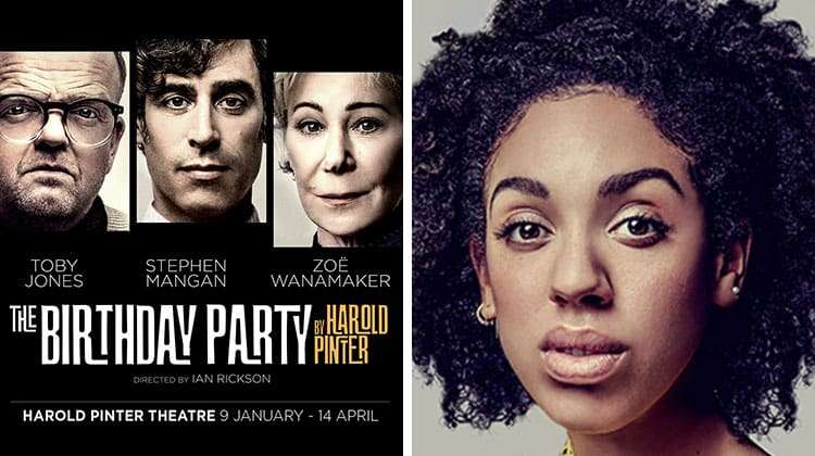 Pearl Mackie joins cast of The Birthday Party