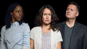 Natasha Bain, Susannah Doyle & Gary Webster. Photo: Matthew House