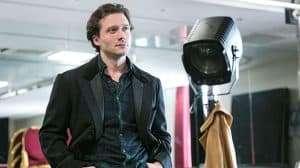 David Oakes in rehearsal for Venus In Fur