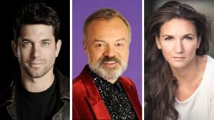 Adam Garcia, Graham Norton and Summer Strallen