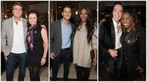 Karen Hardy; Gorka Marquez & Alexandra Burke; Craig Revel Horwood & Chizzy Akudolo. Photo credit Craig Sugden