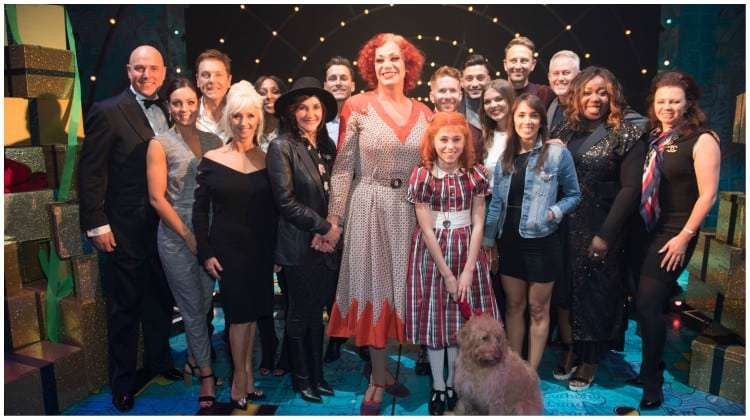 | Strictly stars support Craig Revel Horwood in Annie