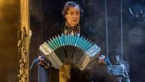 Jim Broadbent in A Very Very Very Dark Matter, Bridge Theatre