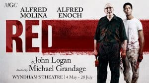 Red starring Alfred Molina & Alred Enoch