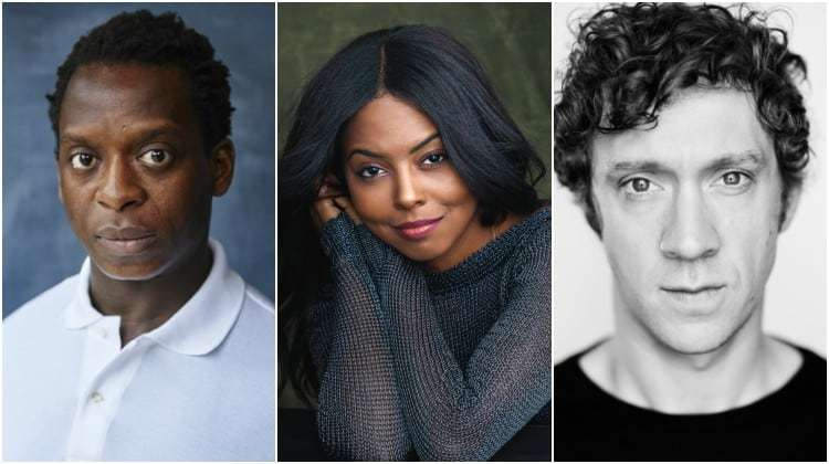 Kobna Holdbrook-Smith, Adrienne Warren & Ryan O'Donnell