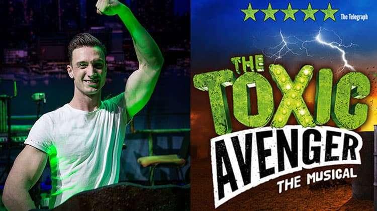 Ben Irish in The Toxic Avenger - The Musical