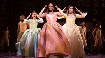Rachelle Ann Go, Rachel John and Christine Allado - Hamilton, London