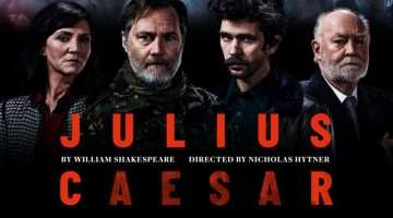 julius caesar at the bridge theatre, london