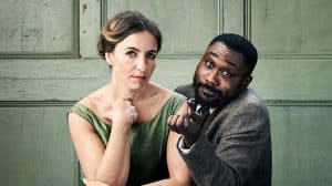 Kirsty Bushell & Jude Owusu in The Cherry Orchard