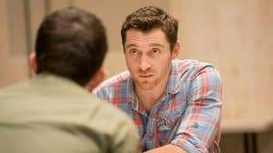 Ben Batt in rehearsals for The York Realist | Donmar Warehouse. Photo Johan Persson