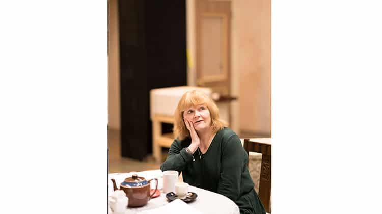 Lesley Nicol in rehearsals for The York Realist | Donmar Warehouse. Photo Johan Persson