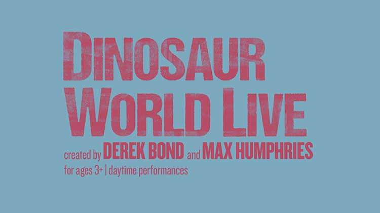 Dinosaur World Live, Regent's Park Open Air Theatre, London