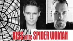 Samuel Barnett & Declan Bennett in Kiss of the Spider Woman, London